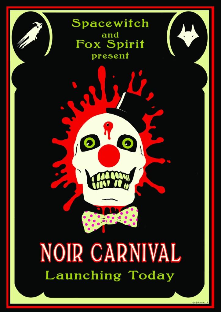 WEBNoir Carnival launch poster A3
