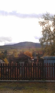 Heading into the highlands: too beautiful to capture from the train