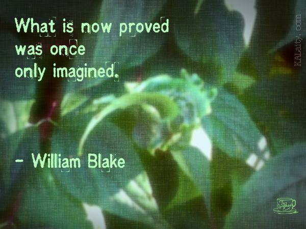Blake Imagined