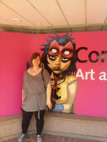 We went to see more comics at the British Library.