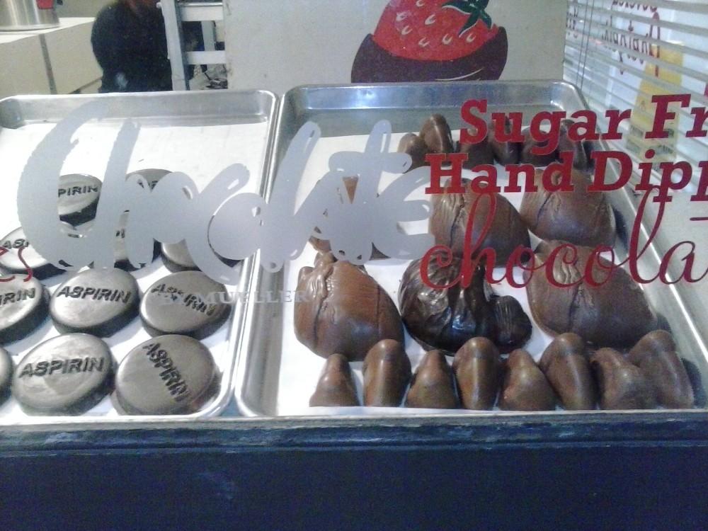 Chocolates at Reading Terminal Market