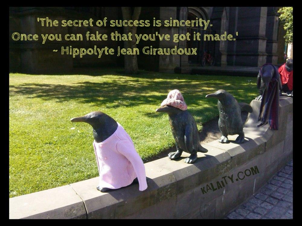 Giraudoux Secret of success
