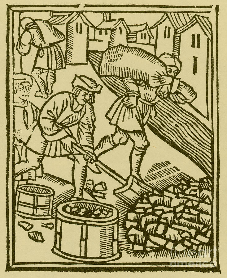 charcoal-burners-medieval-tradesmen-science-source