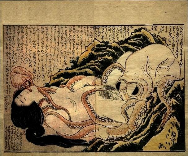 HokusaiDreamFishermansWife