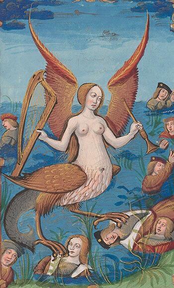 Medieval siren